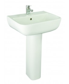 RAK Series 600 Basin 52cm and Pedestal