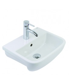 RAK Series 600 Semi Recessed Basin 52cm