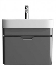 Aquiana Dark Grey 57 Vanity Unit and Basin