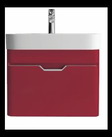 Aquiana Red 48 Vanity Unit and Basin