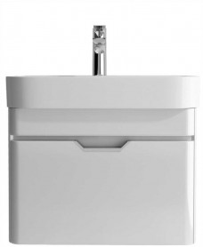 Aquiana Gloss White 57 Vanity Unit and Basin