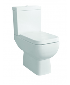 RAK Series 600 Close Coupled Toilet & Soft Close Seat - Short Projection - 595mm - **FURTHER REDUCTIONS