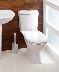 Siena Close Coupled Toilet & Seat