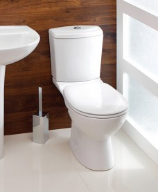 Siena Close Coupled Toilet & Soft Close Seat