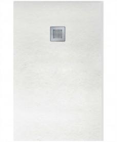 SLATE 1000 x 800 Rectangle Shower Tray White