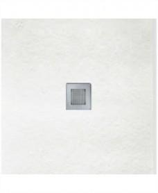 SLATE 800 x 800 Shower Tray White