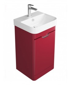 Aquiana Red Floor Standing 48 Vanity Unit - 1 Door ** Further Reductions