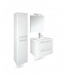 Ramia Gloss White Furniture Pack