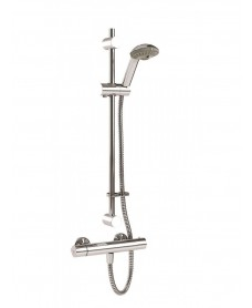 Coolflow Safe Touch Thermostatic T-Bar Shower Kit