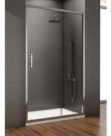 Style 1500mm Sliding Shower Door - Adjustment 1450 - 1490mm