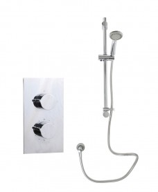 Jupiter Rectangle Thermostatic Shower Kit G