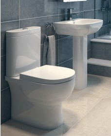 RAK Tonique Toilet and Washbasin Set