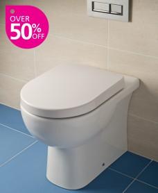 RAK Tonique Back to Wall Toilet & Soft Close Seat