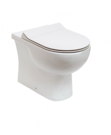 RAK Tonique Back to Wall Toilet & SLIM Soft Close Seat