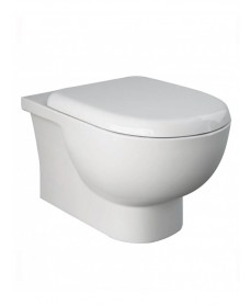 RAK Tonique Wall Hung RIMLESS Toilet & Soft Close Quick Release Seat
