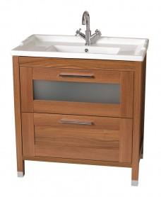 Torres 80cm Vanity Unit & Vitaria Washbasin