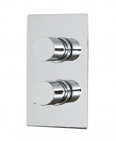 Jupiter Thermostatic Shower Valve Rectangle with Diverter