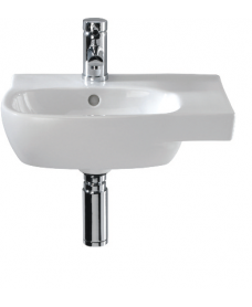 Twyford Moda 45cm Cloakroom Basin with Shelf