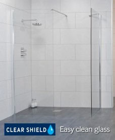 LIFE 1100 Wetroom Panel - Adjustment 1075 - 1100
