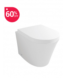 Rondo Back to Wall Toilet & Soft Close Seat - ** FURTHER REDUCTIONS ** Over 60% off