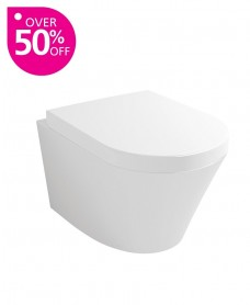 Rondo Wall Hung Toilet & Soft Close Seat
