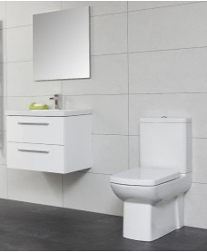 Soho Bathroom Set - with Vanity Unit , Basin , Toilet and Mirror  - An Extra 10% off With Code MAY10