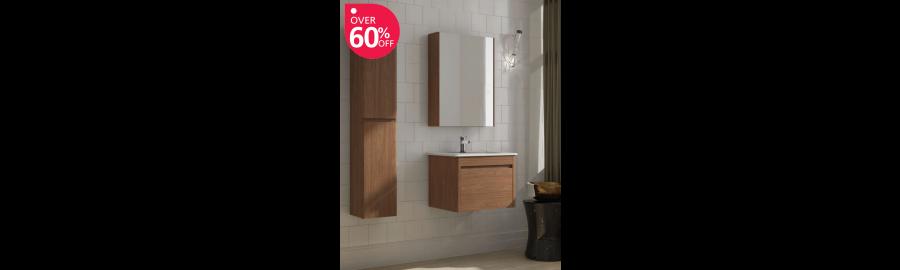 Elora Walnut Furniture Pack - * 60% Off