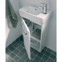 Twyford E200 400 White Vanity Unit and Basin Wall Hung RH Tap** an extra 10% off with code EASTER10