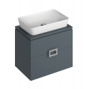 Ava 65cm Base Unit Antracite & Enya Basin