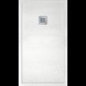 IMPACT 1000 x 800 Shower Tray White - FREE shower waste