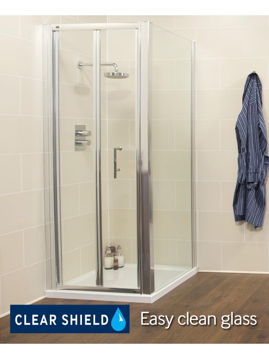 Kyra range 1000 x 800mm bifold shower door for 1000 bifold shower door