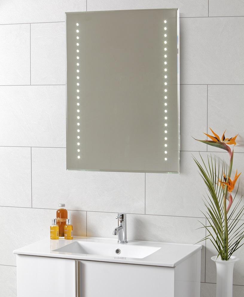 Moto led mirror 600 x 800 for Mirror 800 x 600