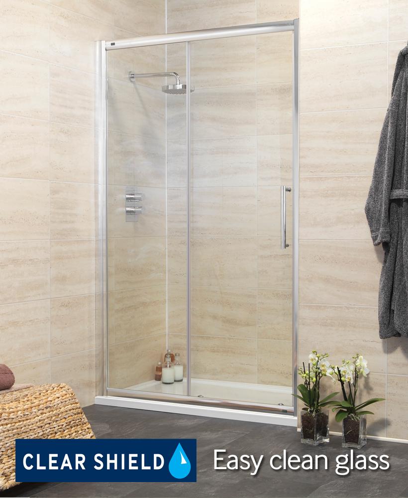 Rival 8mm 1500 sliding shower door adjustment 1440 1500 mm for 1500 sliding shower door