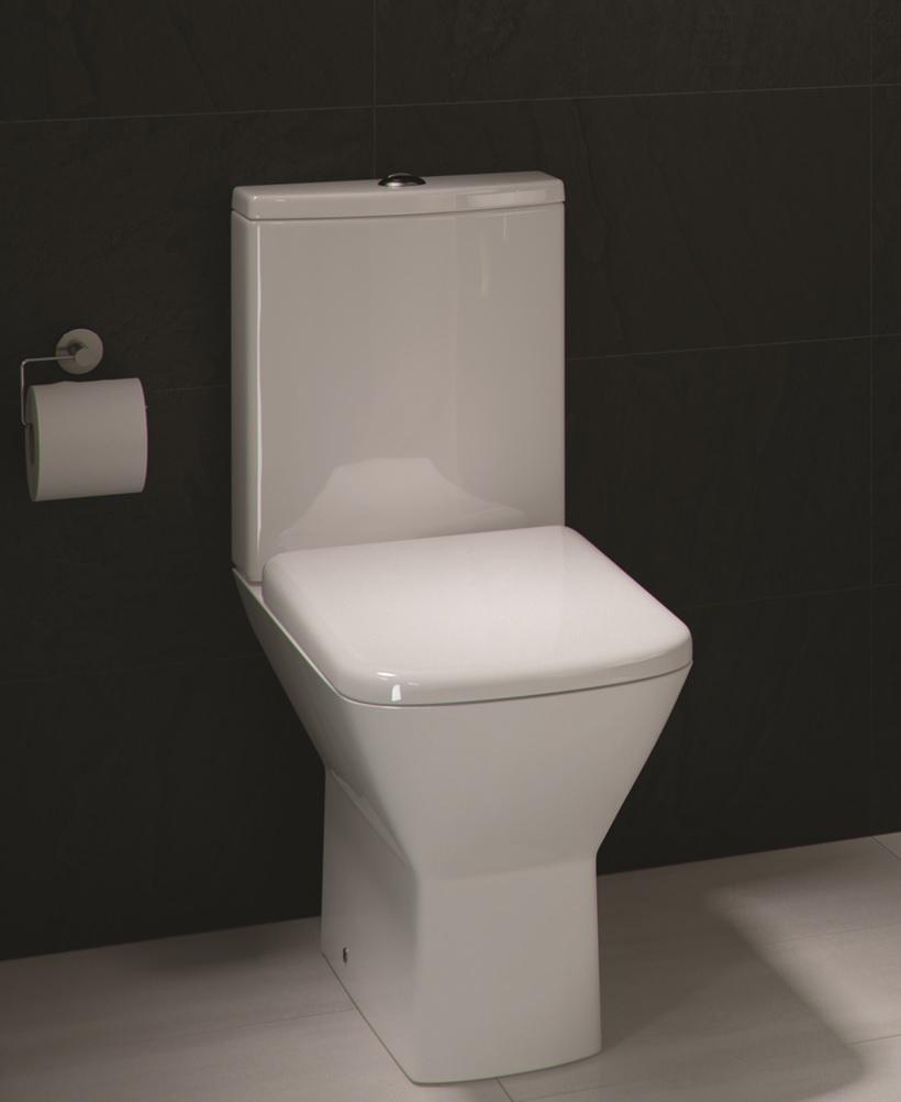 Rak Summit Close Coupled Toilet And Soft Close Seat