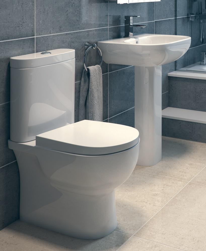 Rak tonique toilet and washbasin set for Washroom set