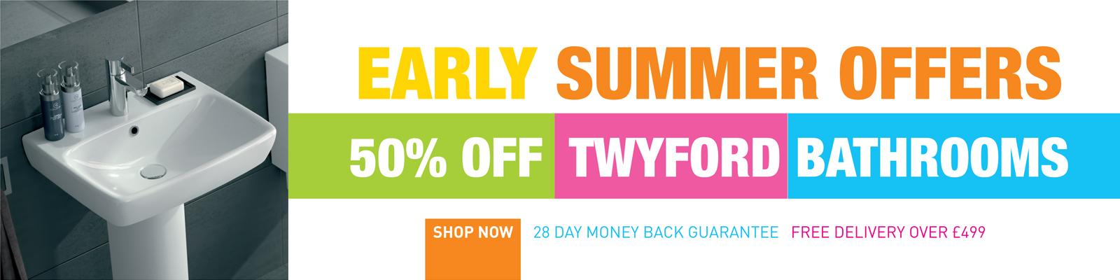 50% Off Twyford