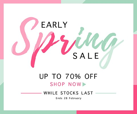 Up to 70% off While Stocks Last