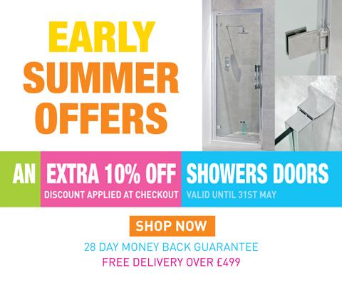 Extra 10% off Shower Doors